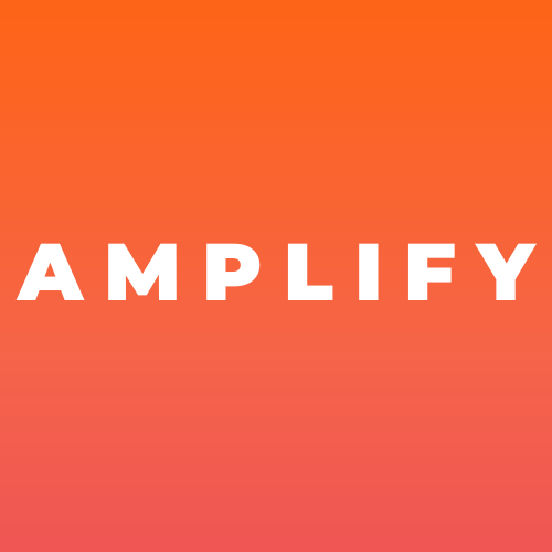 AMPLIFY Marketing Solutions Rebranded Logo