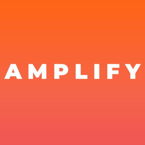 AMPLIFY Marketing Solutions Rebranded Logo